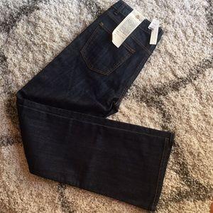 Talbots Signature Boot Cut Dark Rinse Jeans 6/28